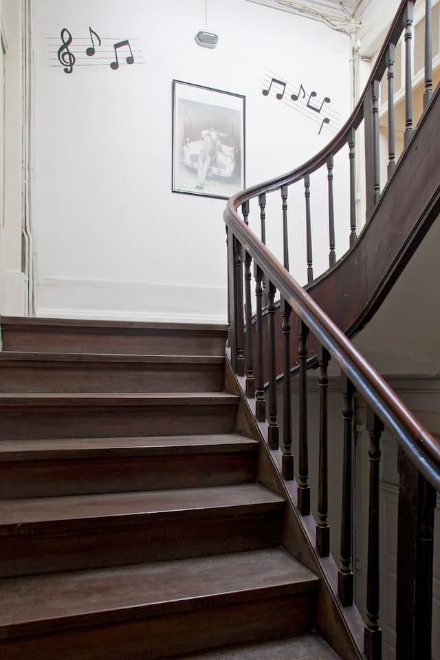 Stairways....music inspirations!