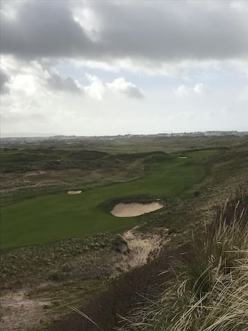 Royal Portrush golf course home of 148th Open 2019
