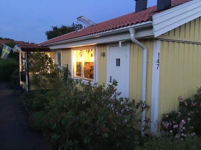 Mysigt 1-planshus i lugnt, barnvänligt område