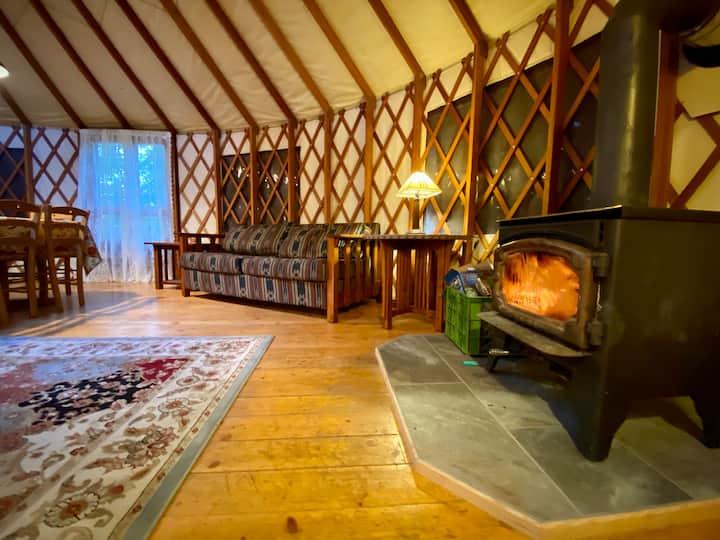Spacious and peaceful yurt