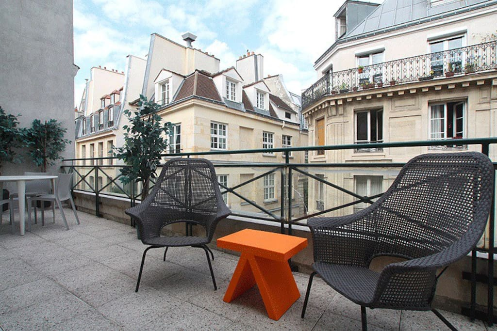 Appartement avec terrasse appartements louer paris for Appartement avec terrasse paris