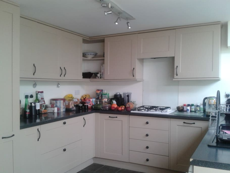 Newly refurbished kitchen!