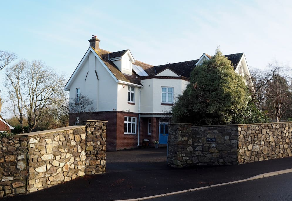 Uplands - front of house