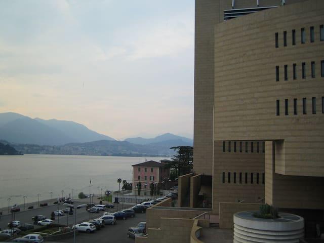 Luxuriöse Wohnung mit Seeblick - Campione D'italia - Wohnung