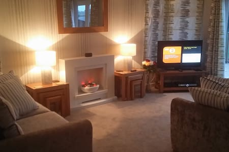 Lodge with Hot Tub Paignton Devon - Paignton - Cabin