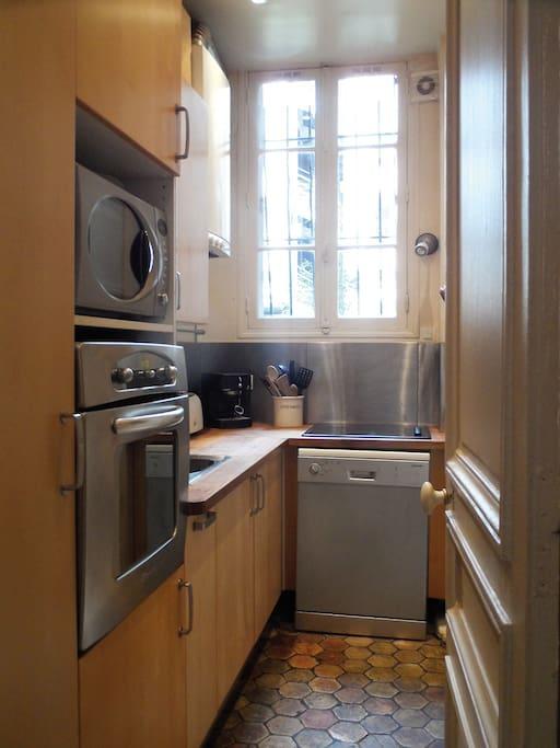 Cuisine très bien équipée Very well equipped kitchen