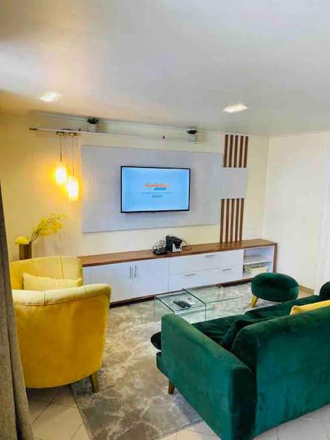 Appart 1 chambre meublé en duplex situé à Bali
