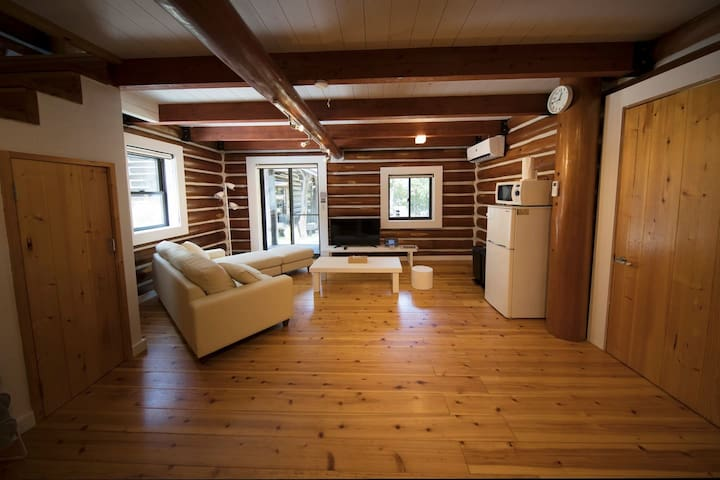 6ppl♪Entire log home◇16min to Spain Mura by car