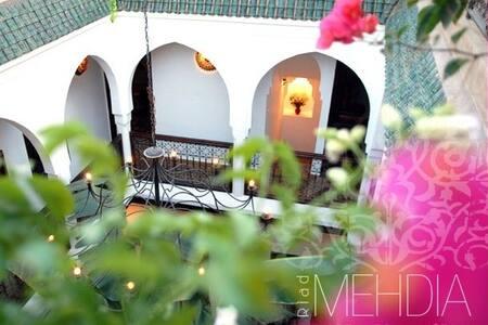 Riad Mehdia chambre standard