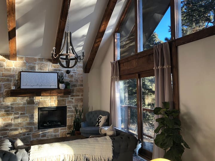 Well-Loved Mountain Home with Private Room + Bath