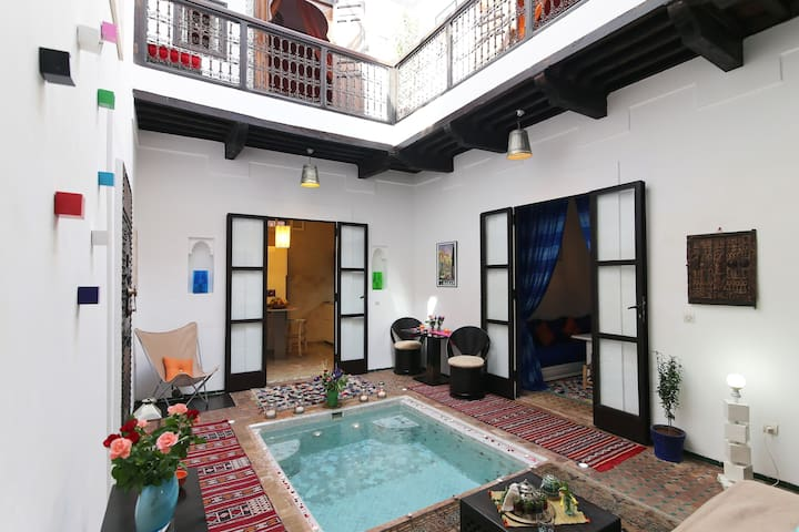 Riad Qalbi Marrakech in Exclusivity (Privatezed) - Marrakech - House