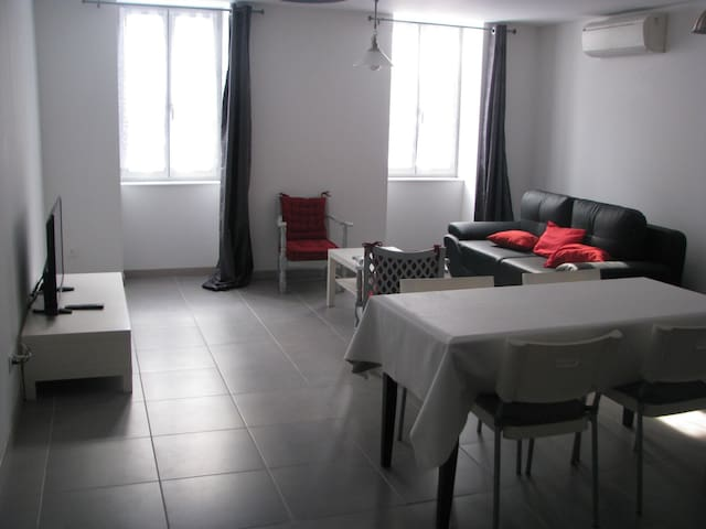 Location appartement grand confort entier. - Pont-de-Vaux - Apartament