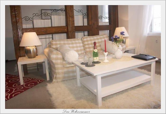 Ferienwohnung Bach-Suite Mühlhausen - Muhlhausen - Apartament