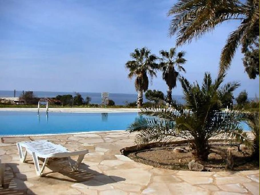 Pool and Gardens with Sea View