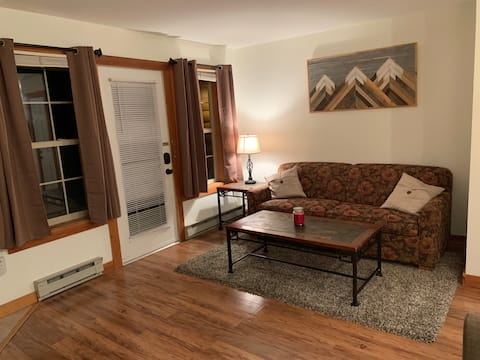 Camp 4: Ski in/Ski Out/Clean, updated and private!