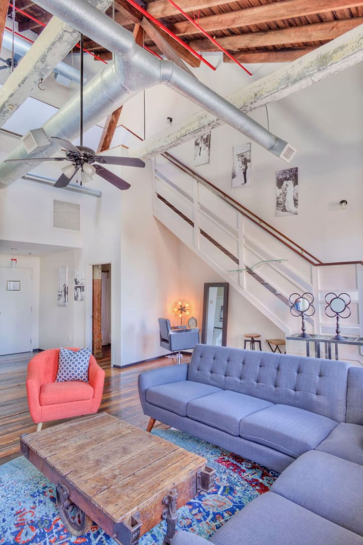 Beautiful Loft in Historic Renovated Mill!
