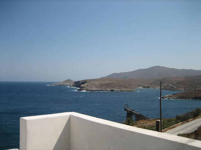 Spectacular views simple beach life - Kithnos - Wohnung