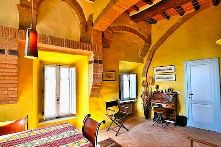 """Casa Prisca""  luxury Borgo House in Val d'Orcia - Buonconvento - Apartment"