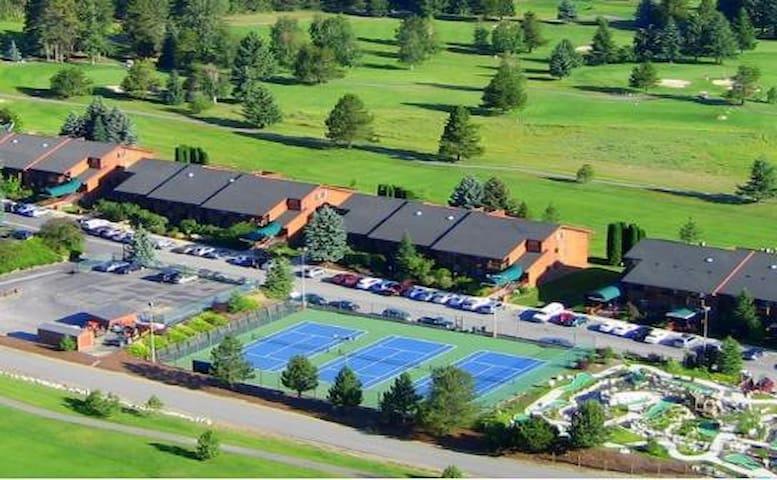 Idaho resort condo nr Spokane, WA