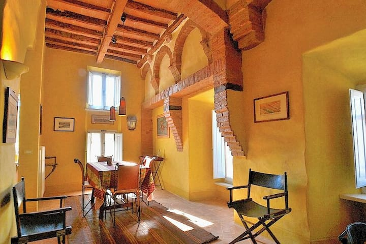 Val d'Orcia apartment close to Montalcino! - Buonconvento - Leilighet