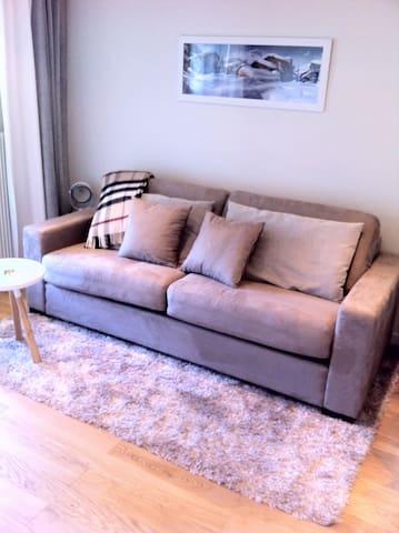 Sofa-bed 160x200,  with a real mattress canapé-lit, avec vrai matelas