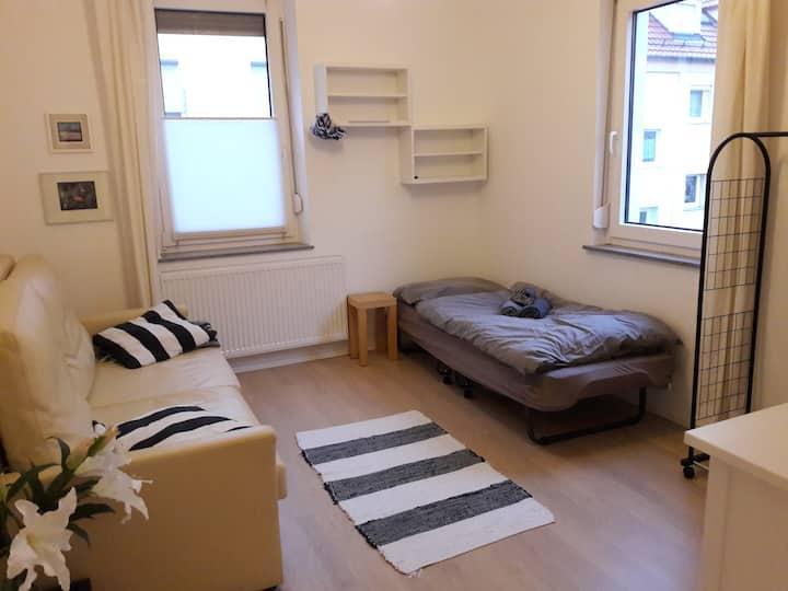 Gemütliches Sofa in einer 3 Zimmer Wohnung