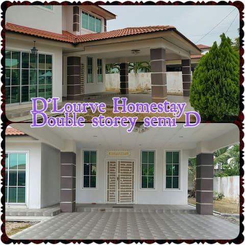 Semi-D, Dbl Storey Bdr Perdana F6 - Sungai Petani - Huis