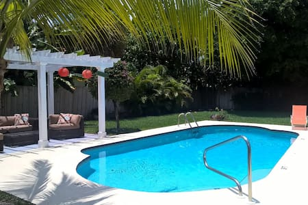 House 500 steps from the beach - West Palm Beach - Hus