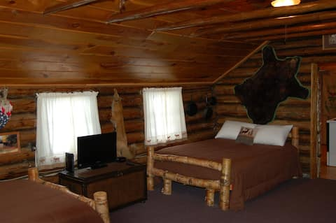 Walleye Inn directly on snowmobile and ATV trail