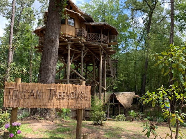 The Treehouse is a quiet and peaceful retreat.