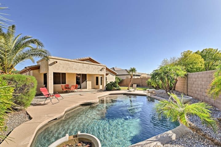 Goodyear Getaway w/ Private Pool & Outdoor Lounge!