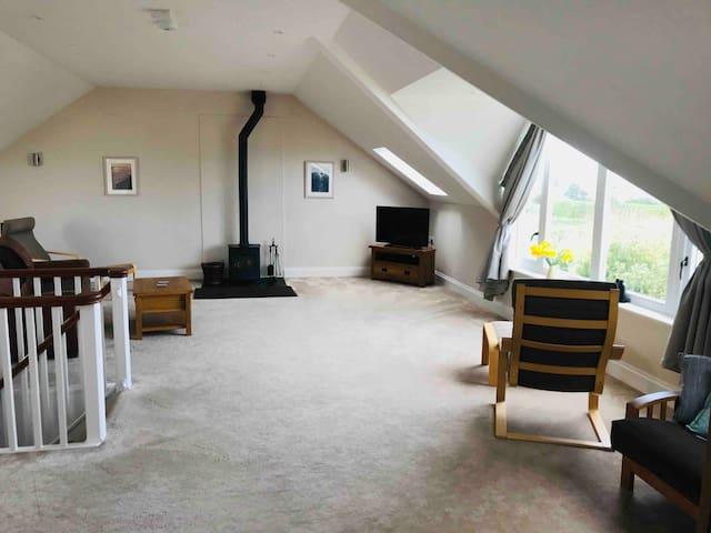 Trefusis, a spacious apartment with sea views