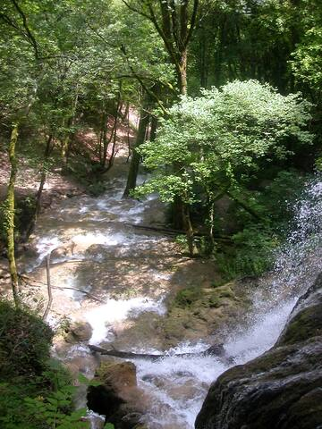 Cascade de Clairefontaine à Virieu le Grand