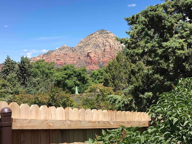 West side Red Rock Views (from Your Private Patio Sitting Area)