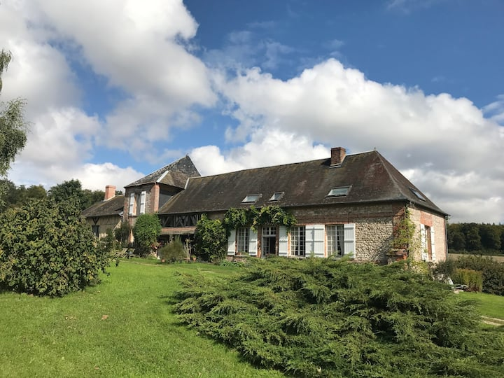 La Haye, a Farm House in Normandy.