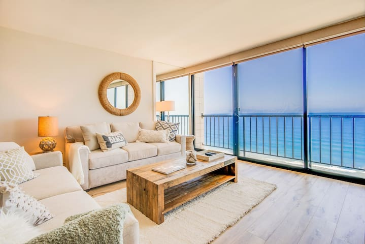 Newly remodeled 10th floor oceanfront condo