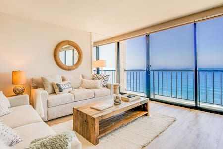 Beautifully remodeled 10th floor oceanfront condo