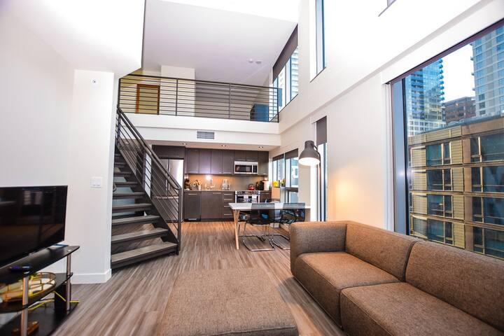 Lofted Dreams 2- Seattle's Finest Loft xx