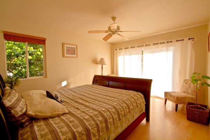 Comfortable and quiet studio in peaceful Paia