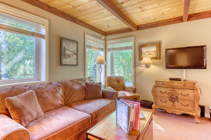 Delightful condo minutes to downtown and near skiing!