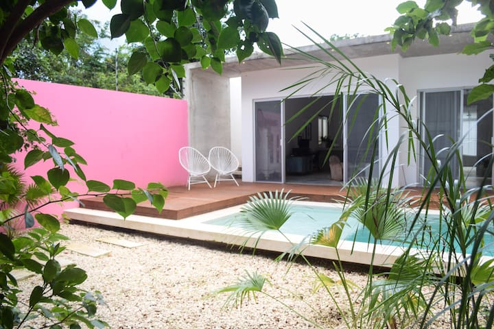 Design Tropical Stylish Home w.Pool - Tulum - House