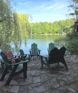 Gorgeous, Secluded, Lakeside Lodge - Granville