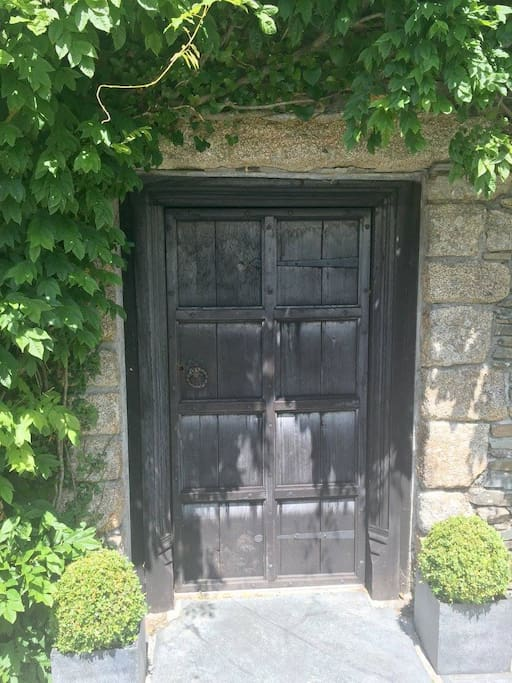 Our authentic replica of a grade 2 listed Manor House door (including hand made nails from Germany)