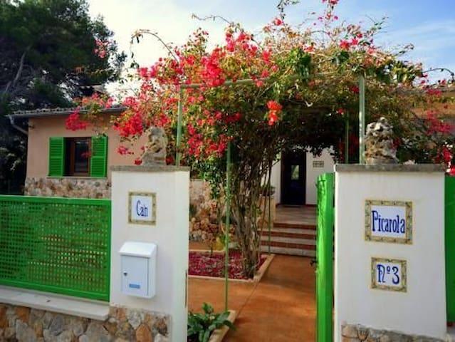 Casa en parque Natural de Mondragó