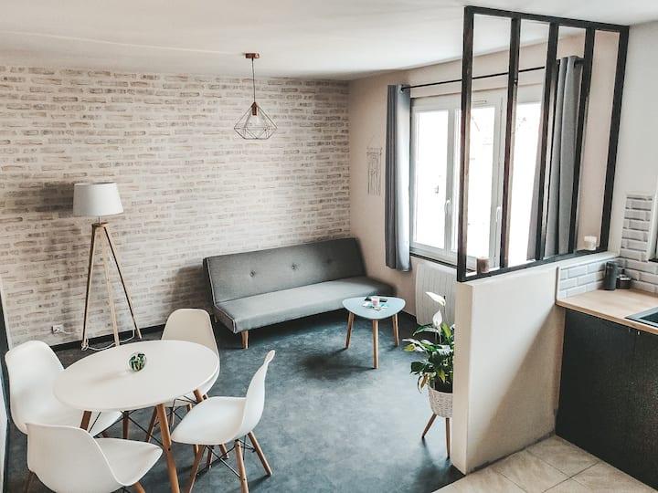 ☆♡Très  joli  appartement  ensoleillé + terrasse☆♡
