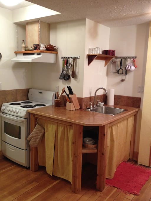 "Brand new fully equipped kitchen with breakfast ""fixings"" supplied"