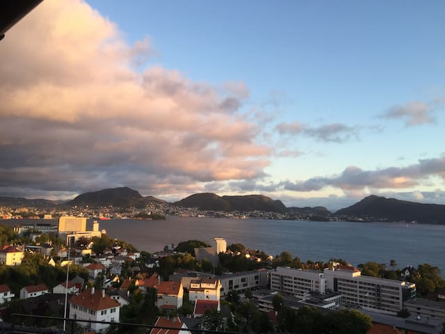 A quiet place with beautiful view. - Bergen - Apartament