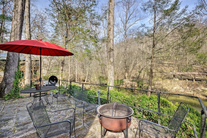 Cleveland Home w/ South Saluda Fishing Access