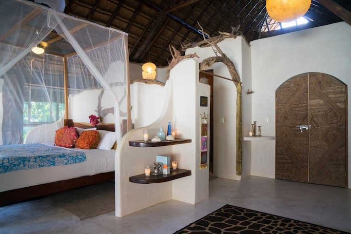 Beach Eco Chic stylish 5 bedroom - Tulum - House