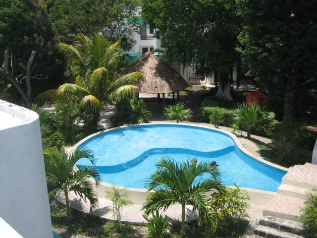 Acogedora Casa Caribeña  muy segura - Cancún - Huis